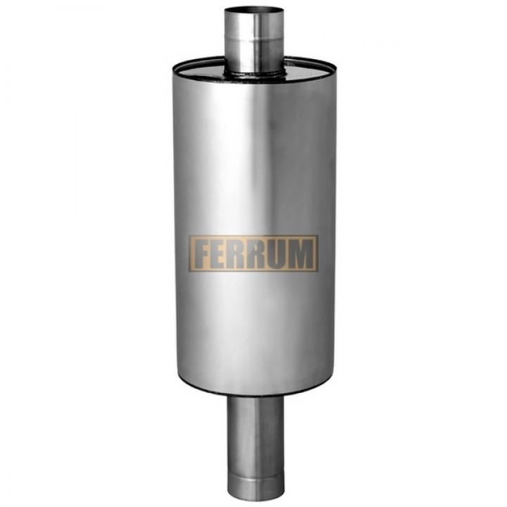 Бак Феррум Комфорт самоварного типа, 45 л, нержавеющий (AISI 201/1,0 мм), ф115 мм, круглый