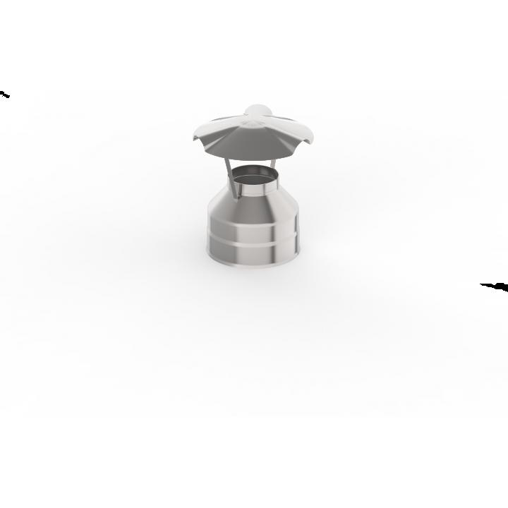 Оголовок УМК нерж, (439/0,5 мм), ф115/200