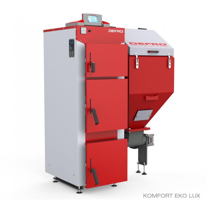 Автоматический котел для угля DEFRO KOMFORT EKO LUX 40 кВт